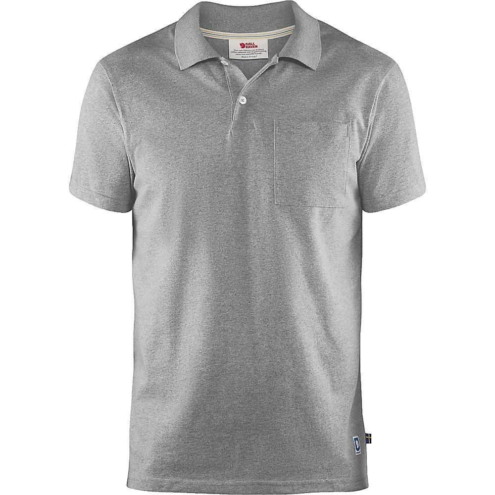 フェールラーベン Fjallraven メンズ ハイキング・登山 トップス【Greenland Re-Cotton Polo Shirt】Grey