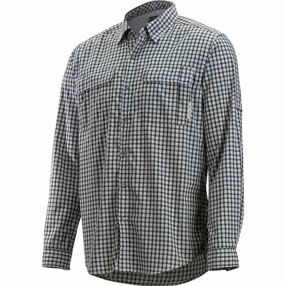 エクスオフィシオ ExOfficio メンズ ハイキング・登山 トップス【BugsAway Halo Check LS Shirt】Grey
