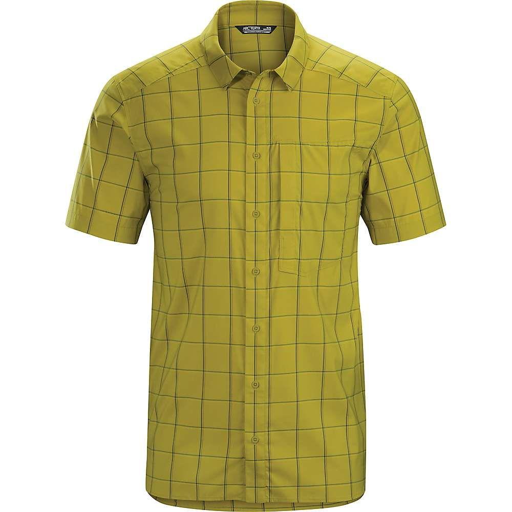 アークテリクス Arcteryx メンズ ハイキング・登山 トップス【Riel SS Shirt】Yukon Gold