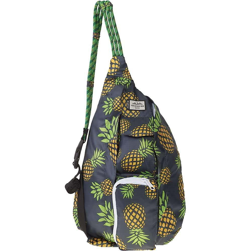 カブー Kavu ユニセックス バッグ ショルダーバッグ【KAVU Mini Rope Pack】Pineapple Party