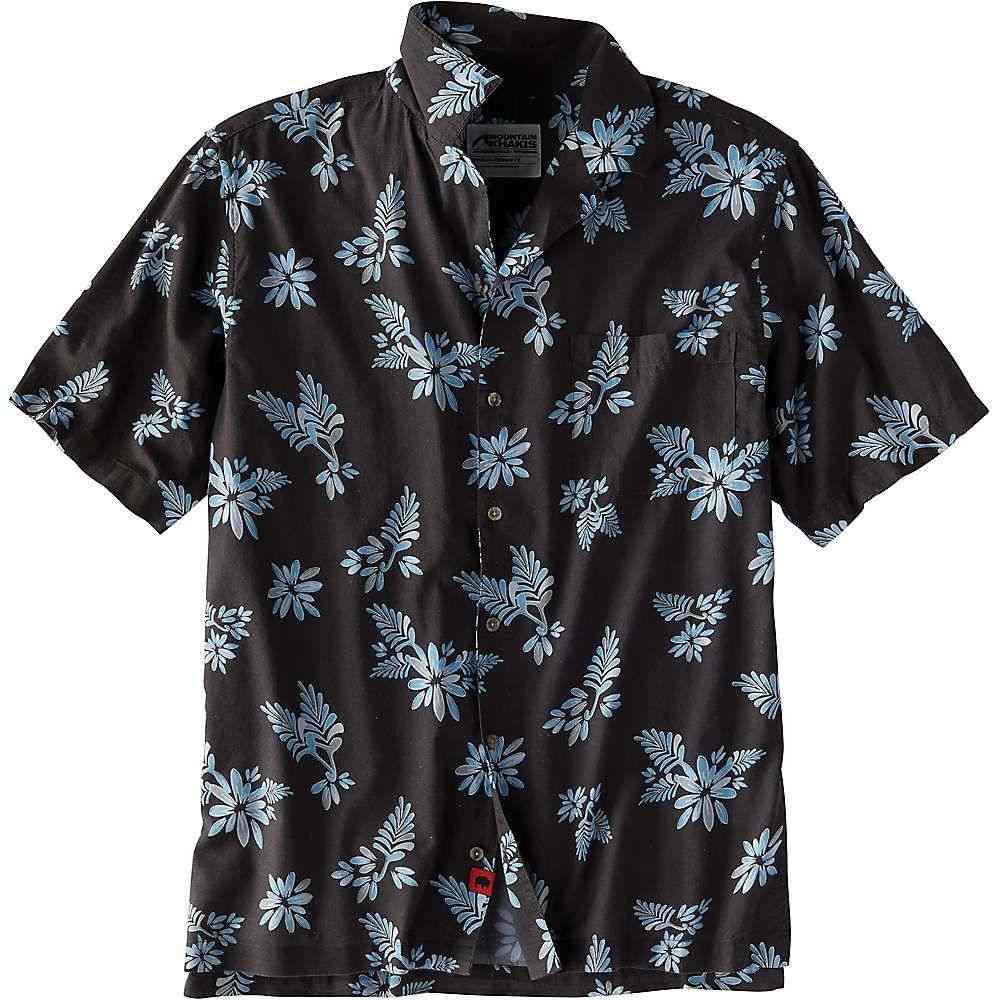 マウンテンカーキス Mountain Khakis メンズ ハイキング・登山 トップス【Chee Pono SS Shirt】Slate Print