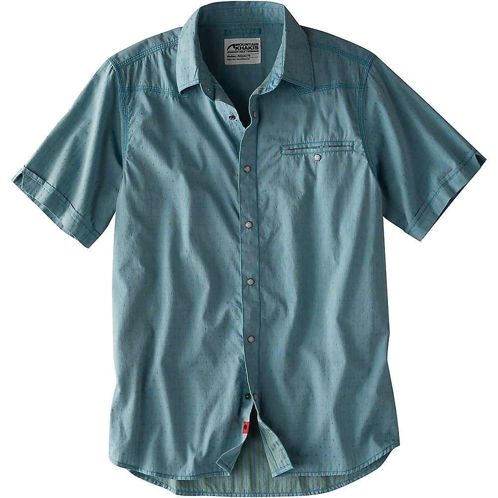 マウンテンカーキス Mountain Khakis メンズ ハイキング・登山 トップス【El Camino SS Shirt】Prismatic