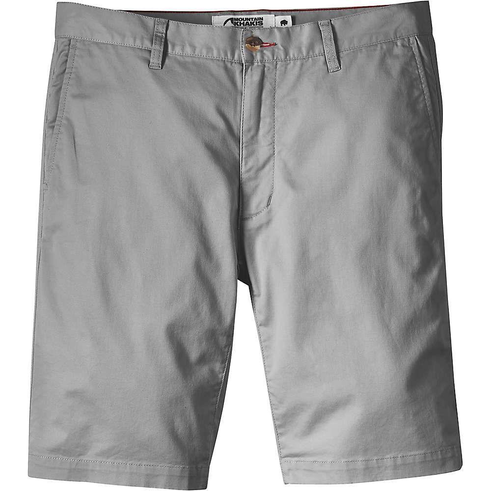 マウンテンカーキス Mountain Khakis メンズ ハイキング・登山 ボトムス・パンツ【Jackson Chino 10 Inch Short】Gunmetal