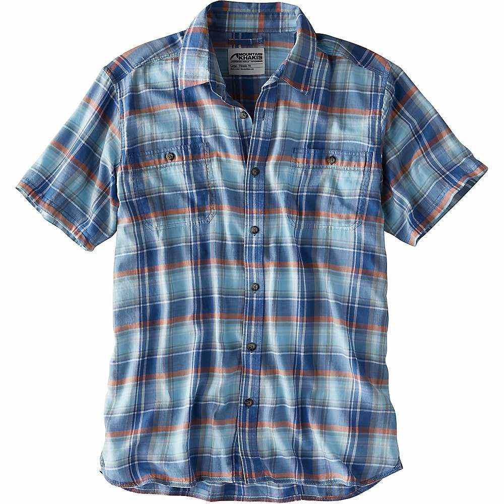 マウンテンカーキス Mountain Khakis メンズ ハイキング・登山 トップス【Meridian SS Shirt】Calypso