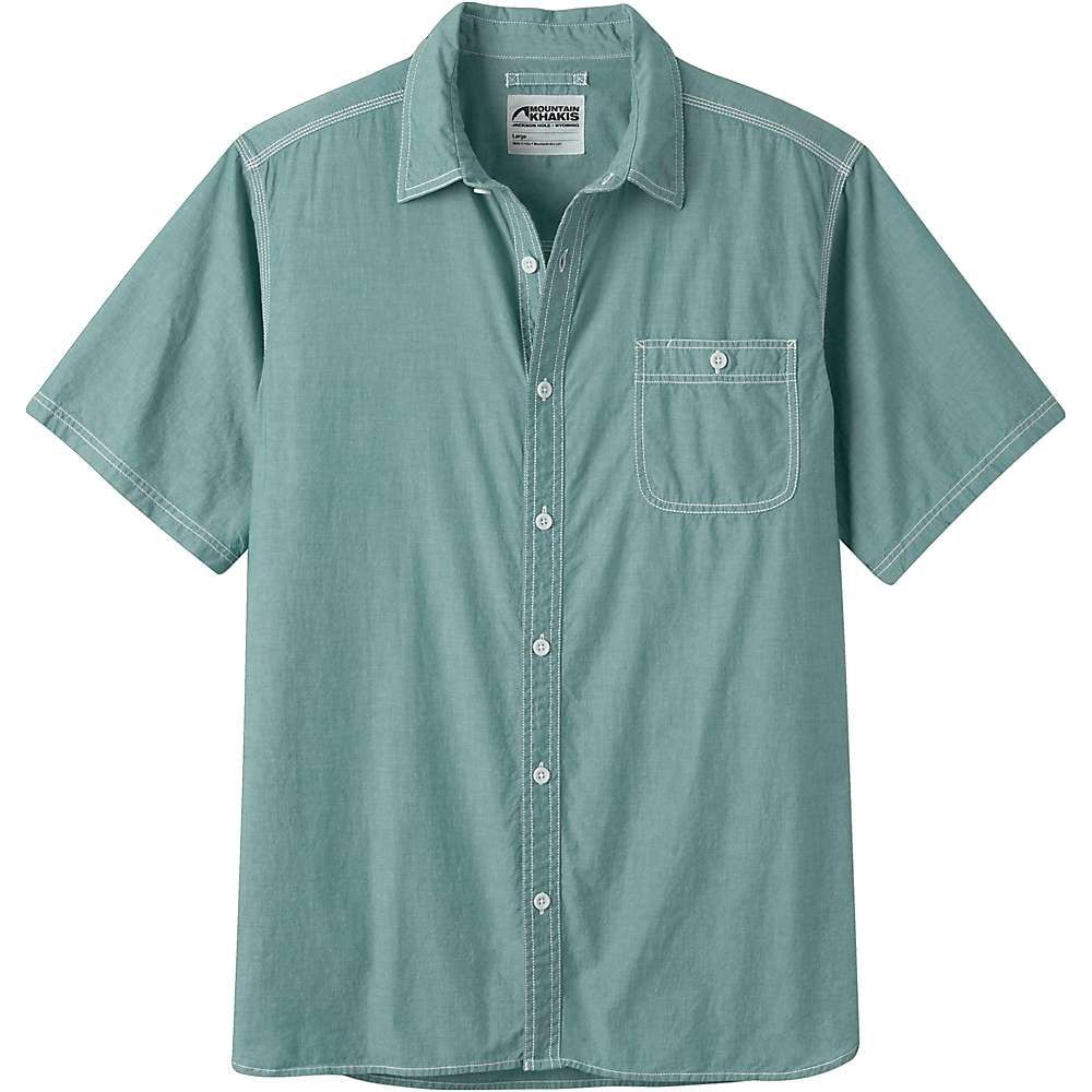 マウンテンカーキス Mountain Khakis メンズ ハイキング・登山 トップス【Mountain Chambray SS Shirt】Calypso