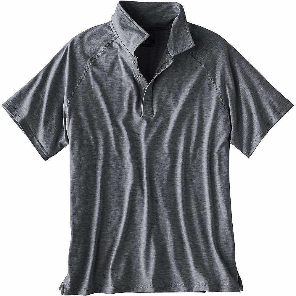 マウンテンカーキス Mountain Khakis メンズ ハイキング・登山 トップス【Passage Polo Shirt】Gunmetal Heather
