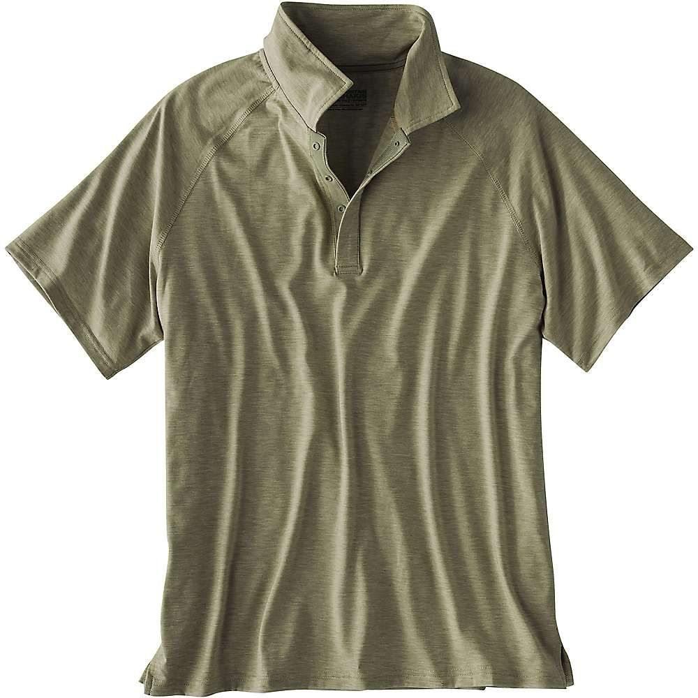 マウンテンカーキス Mountain Khakis メンズ ハイキング・登山 トップス【Passage Polo Shirt】Juniper Heather
