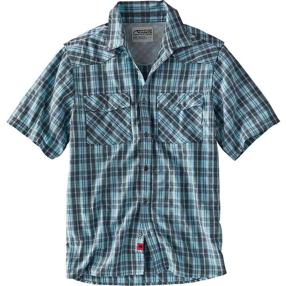 マウンテンカーキス Mountain Khakis メンズ ハイキング・登山 トップス【Scrambler SS Shirt】Gunmetal