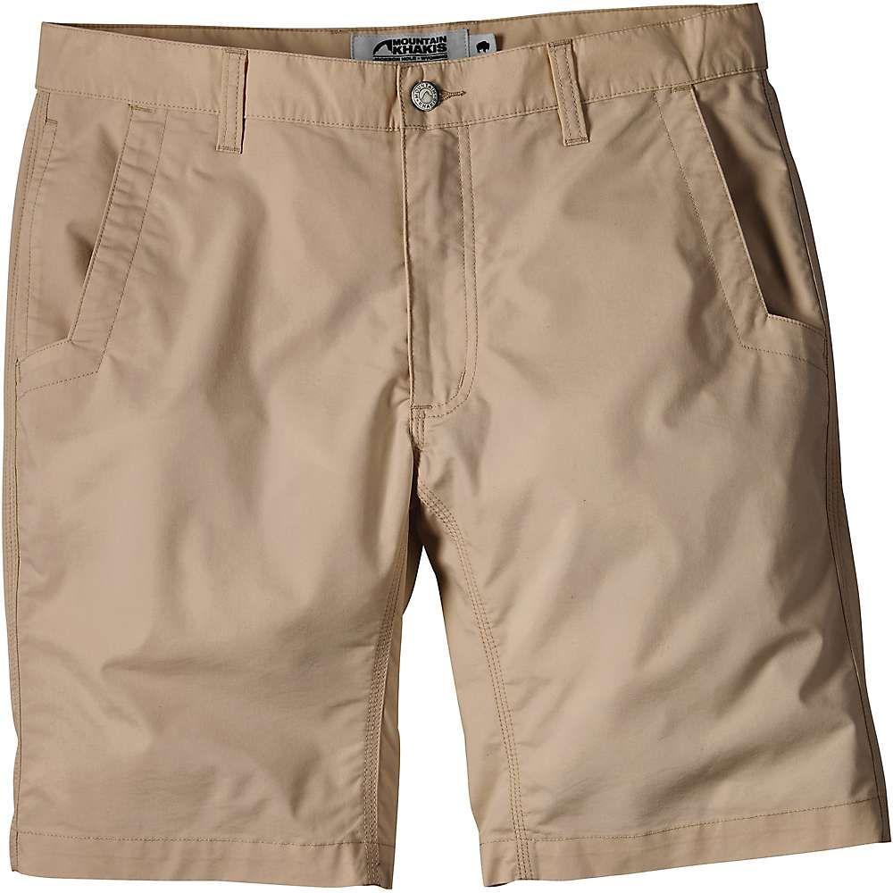 マウンテンカーキス Mountain Khakis メンズ ハイキング・登山 ボトムス・パンツ【Stretch Poplin 8 Inch Short】Khaki