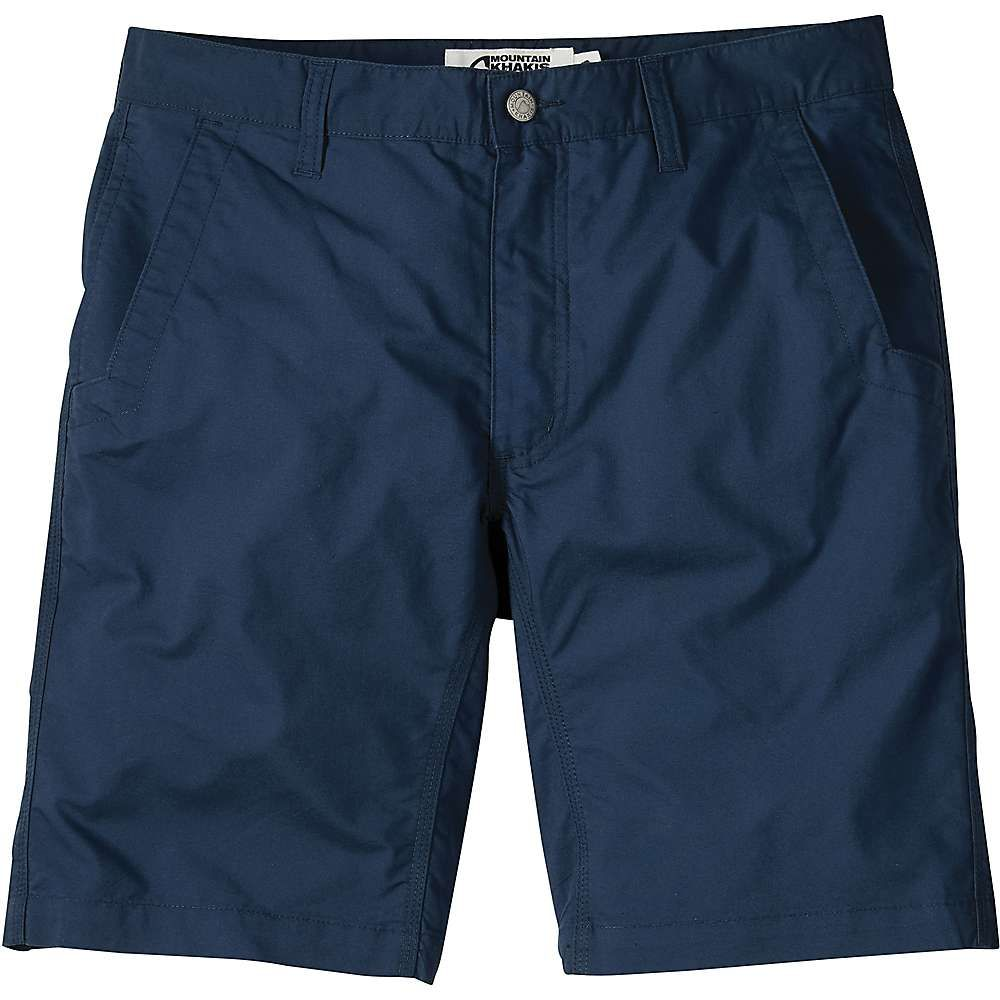 マウンテンカーキス Mountain Khakis メンズ ハイキング・登山 ボトムス・パンツ【Stretch Poplin 10 Inch Short】Navy