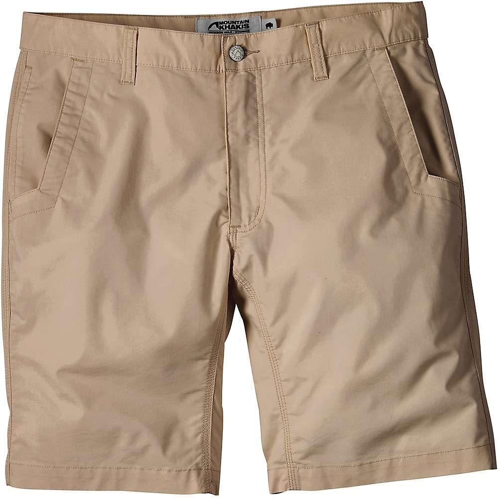 マウンテンカーキス Mountain Khakis メンズ ハイキング・登山 ボトムス・パンツ【Stretch Poplin 10 Inch Short】Khaki