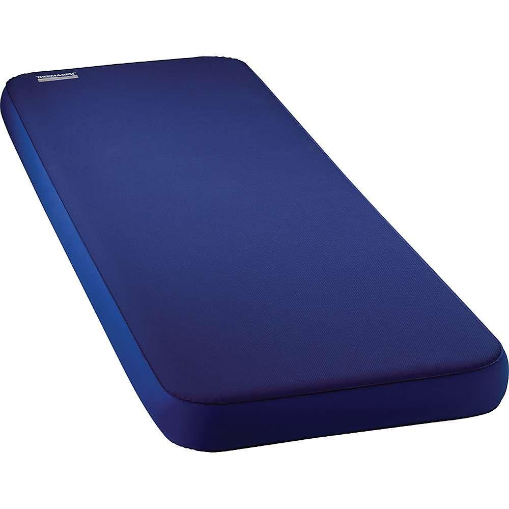 サーマレスト Thermarest ユニセックス ハイキング・登山【Therm-a-Rest MondoKing 3D Mattress】Marine Blue