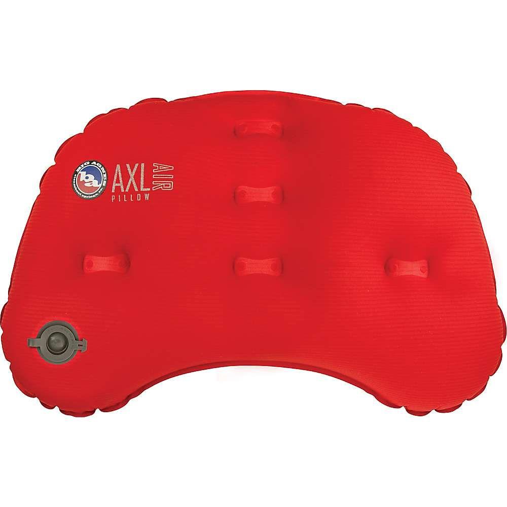 ビッグアグネス Big Agnes ユニセックス ハイキング・登山【AXL Air Pillow】Red
