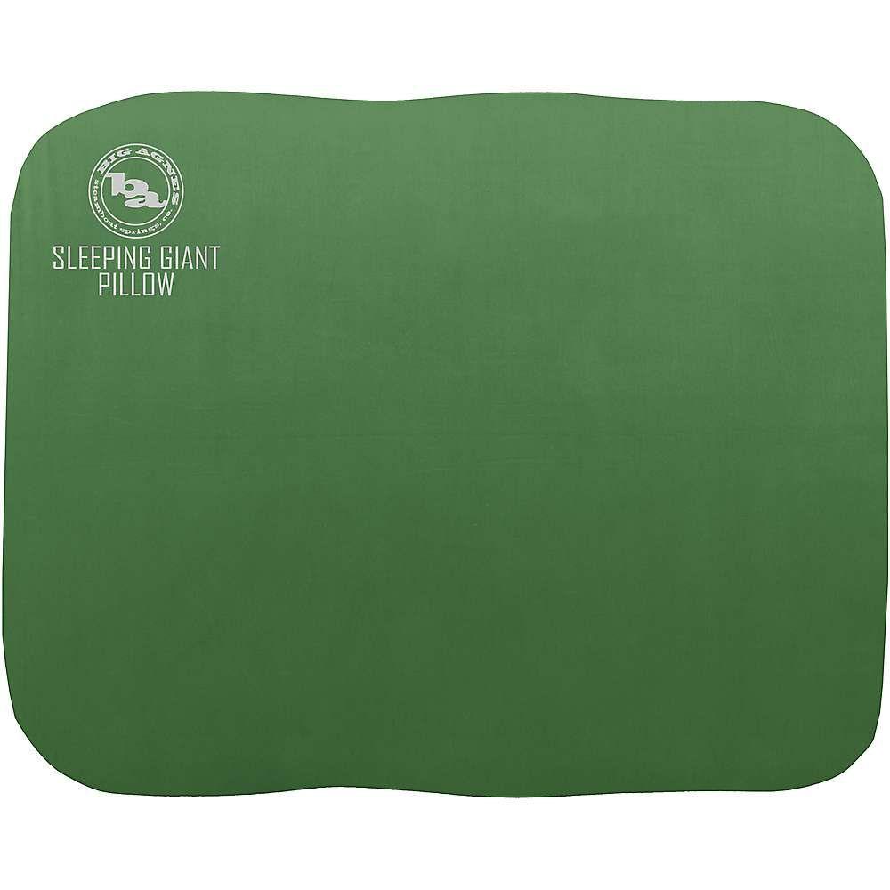 ビッグアグネス Big Agnes ユニセックス ハイキング・登山【Sleeping Giant Pillow Deluxe】Green