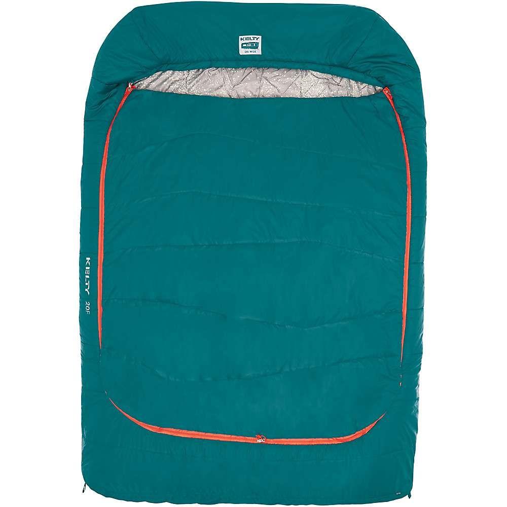 ケルティ Kelty ユニセックス ハイキング・登山【Tru Comfort Doublewide 20 Sleeping Bag】Deep Teal / Mandarin Red