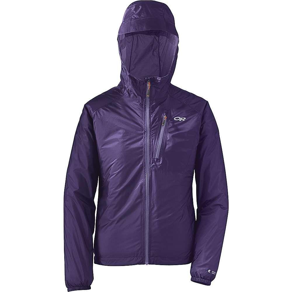 アウトドアリサーチ Outdoor Research レディース アウター レインコート【Helium II Jacket】Dark Basalt/Purple Haze