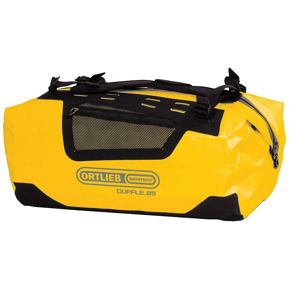 オートリービー Ortlieb ユニセックス バッグ ボストンバッグ・ダッフルバッグ【Duffel 85L Bag】Sun Yellow / Black