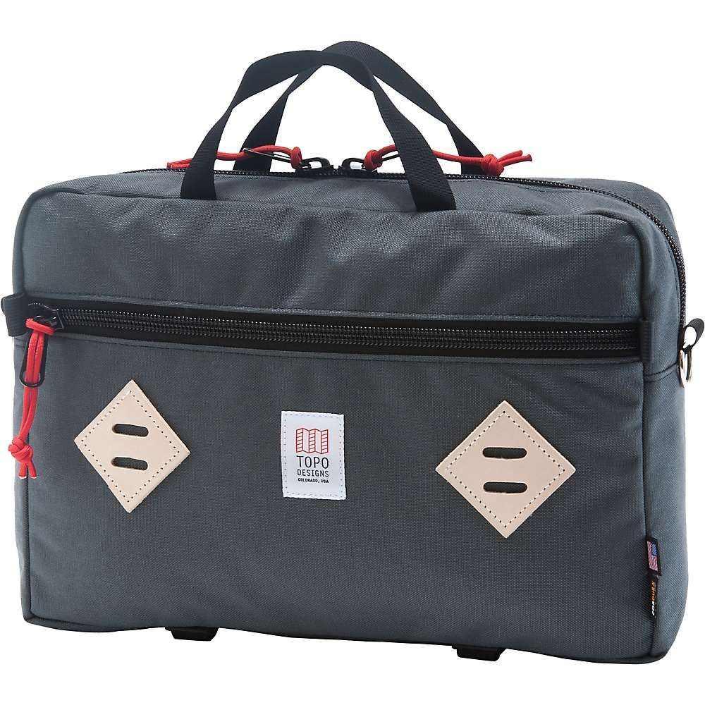 トポ デザイン Topo Designs ユニセックス バッグ【Mountain Briefcase】Charcoal