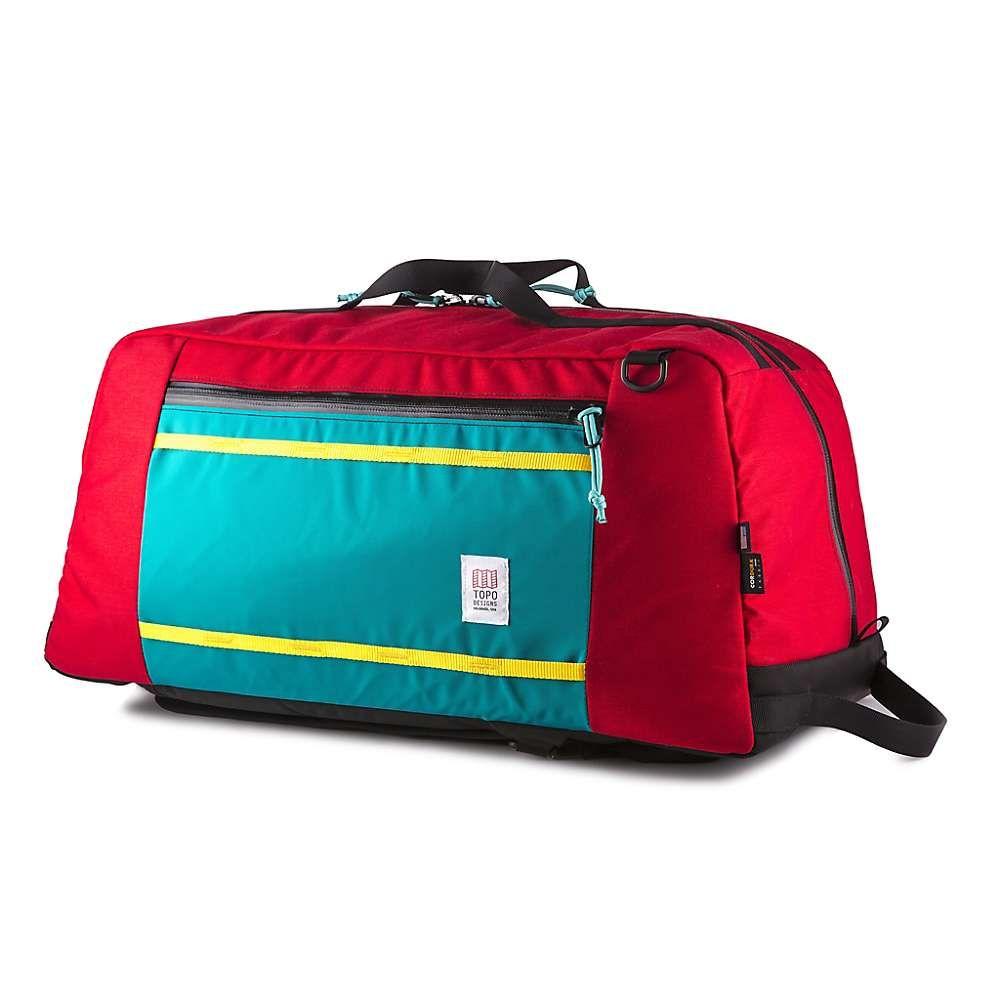 トポ デザイン Topo Designs ユニセックス バッグ ボストンバッグ・ダッフルバッグ【Mountain Duffel Bag】Red