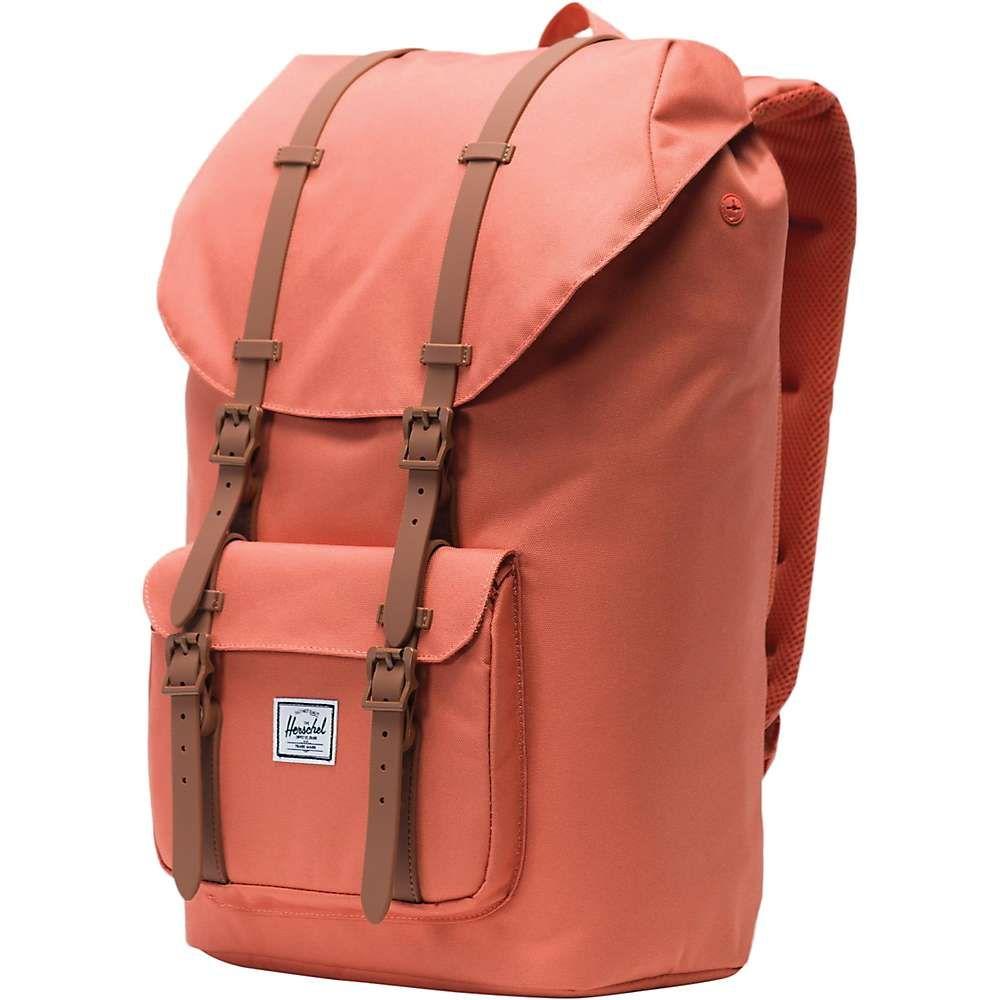 ハーシェル サプライ Herschel Supply Co ユニセックス バッグ バックパック・リュック【Little America Backpack】Apricot Brandy / Saddle Brown