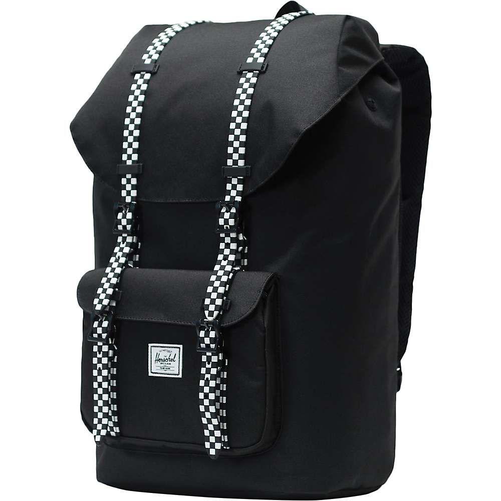 ハーシェル サプライ Herschel Supply Co ユニセックス バッグ バックパック・リュック【Little America Backpack】Black / Checkerboard