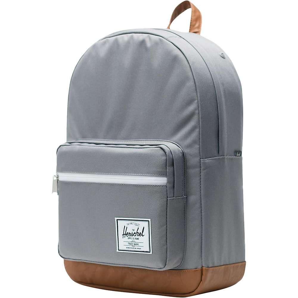 ハーシェル サプライ Herschel Supply Co ユニセックス バッグ バックパック・リュック【Pop Quiz Backpack】Grey / Tan