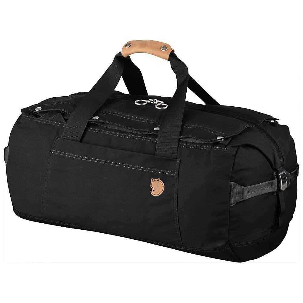 フェールラーベン Fjallraven ユニセックス バッグ ボストンバッグ・ダッフルバッグ【No.6 Small Duffel Bag】Black