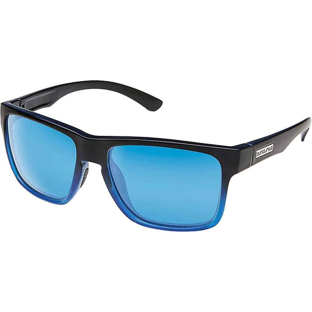 サンクラウド Suncloud ユニセックス メガネ・サングラス【Rambler Polarized Sunglasses】Black Blue / Blue Mirror Polarized