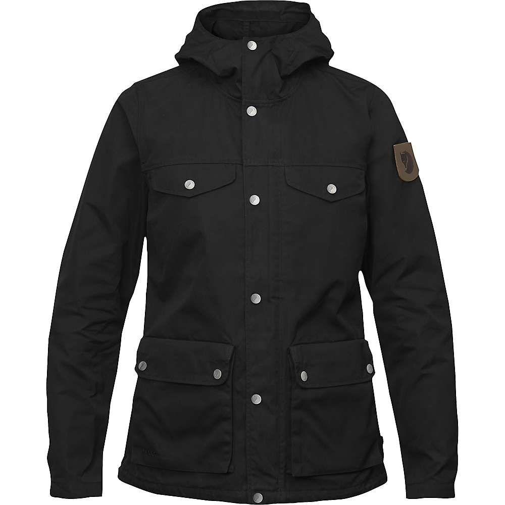 フェールラーベン Fjallraven レディース アウター レインコート【Greenland Jacket】Black
