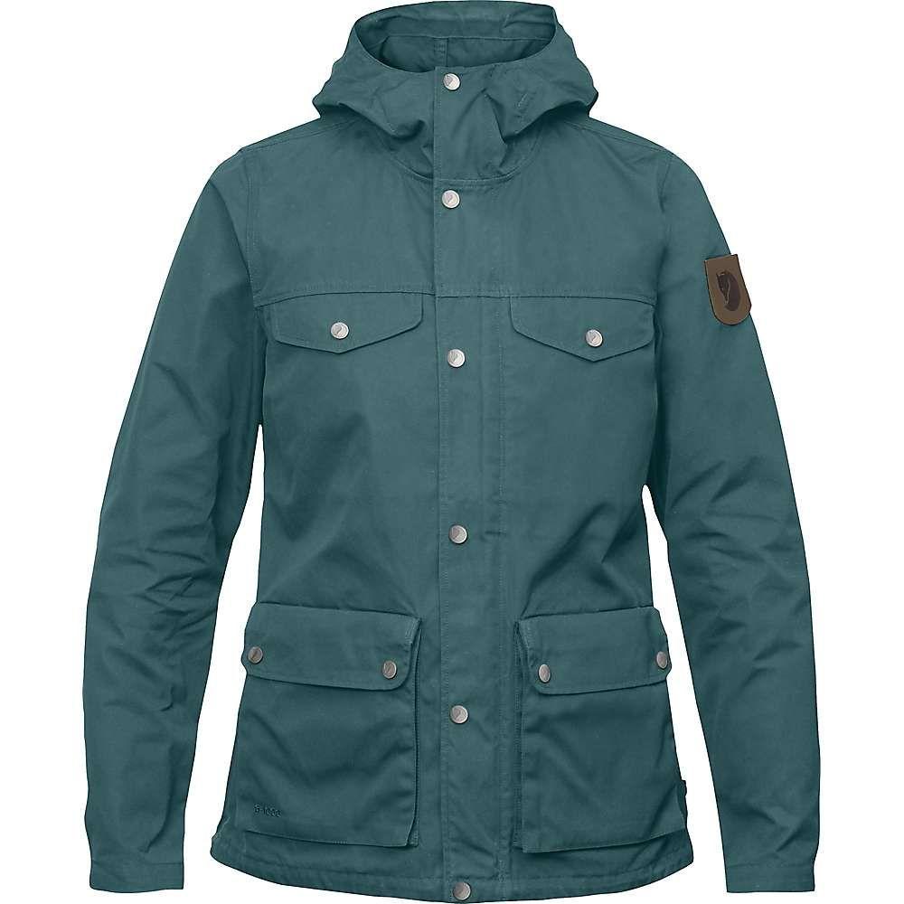 フェールラーベン Fjallraven レディース アウター レインコート【Greenland Jacket】Frost Green