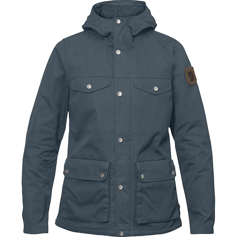 フェールラーベン Fjallraven レディース アウター レインコート【Greenland Jacket】Dusk