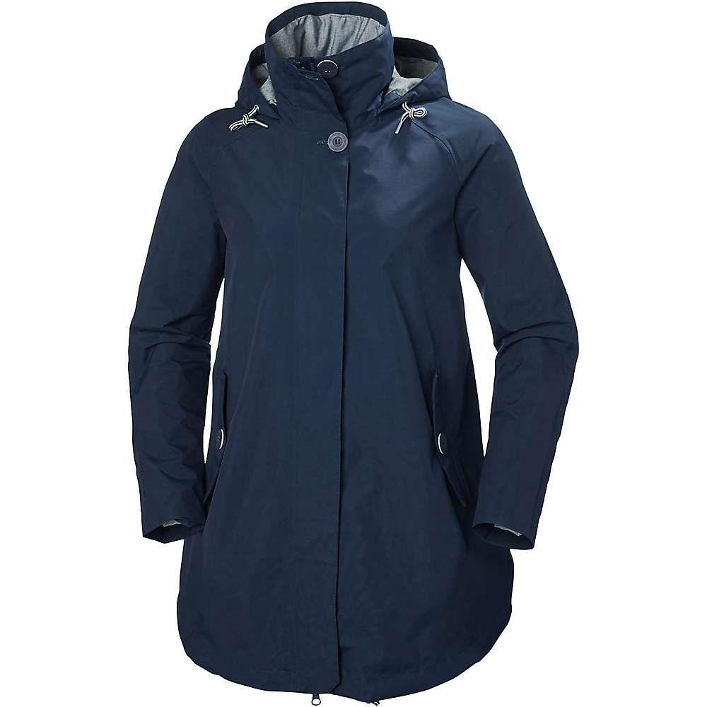 ヘリーハンセン Helly Hansen レディース アウター レインコート【Sendai Rain Coat】EVENING BLUE