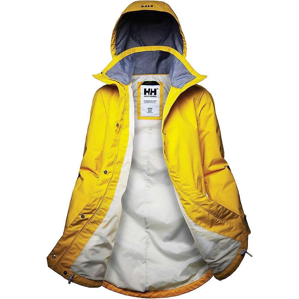 ヘリーハンセン Helly Hansen レディース アウター レインコート【Sendai Rain Coat】SULPHUR