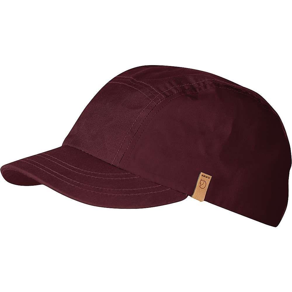 フェールラーベン Fjallraven ユニセックス 帽子 キャップ【Keb Trekking Cap】Dark Garnet