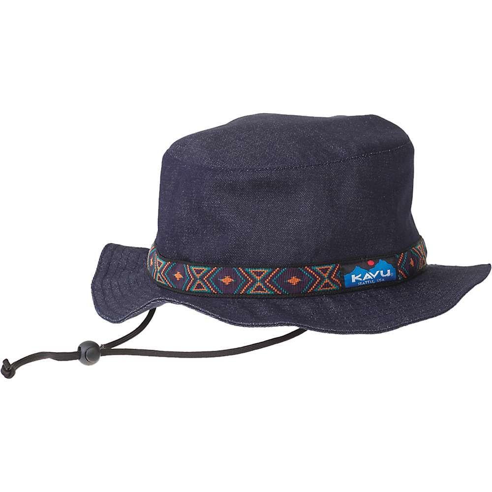 カブー Kavu ユニセックス 帽子 ハット【KAVU Strap Bucket Hat】Denim