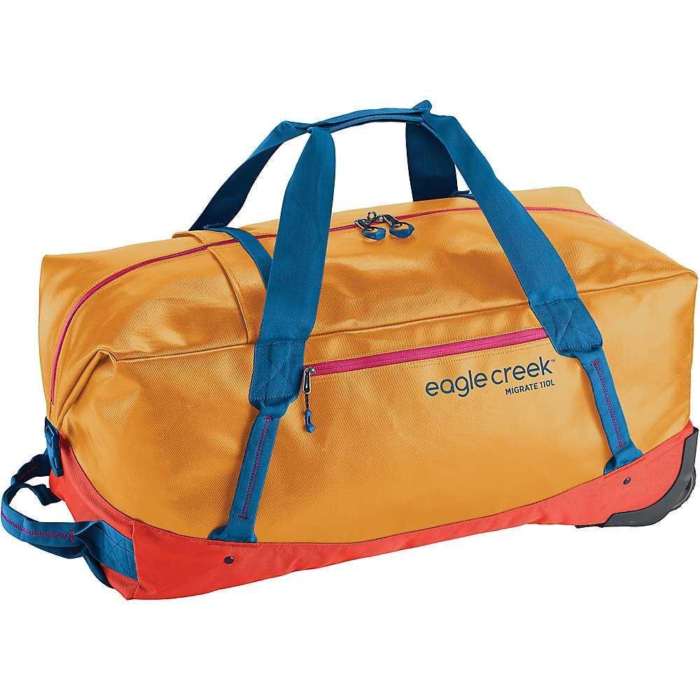 エーグルクリーク Eagle Creek ユニセックス バッグ スーツケース・キャリーバッグ【Migrate Wheeled 110L Duffel Bag】Sahara Yellow