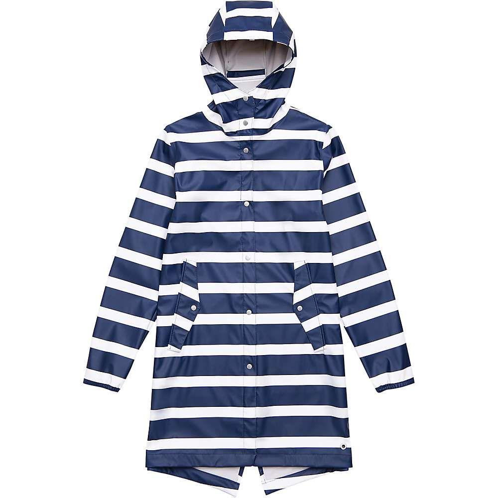 ハーシェル サプライ Herschel Supply Co レディース アウター レインコート【Fishtail Rain Jacket】Border Stripe