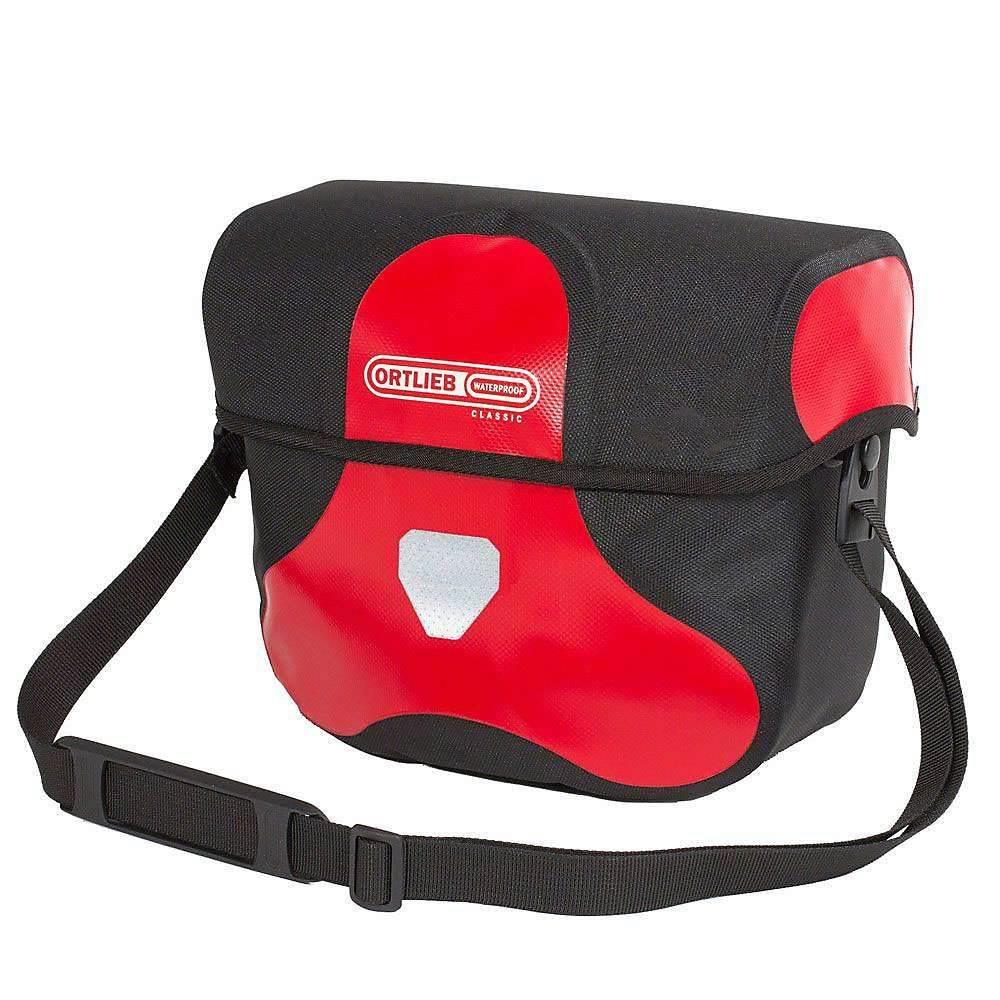 オートリービー Ortlieb ユニセックス 自転車【Ultimate6 Classic 7L Handlebar Bag】Red / Black