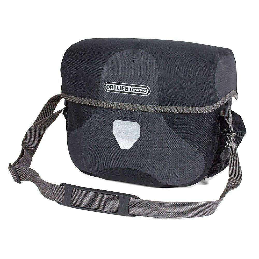 オートリービー Ortlieb ユニセックス 自転車【Ultimate6 Plus 7L Handlebar Bag】Granite / Black