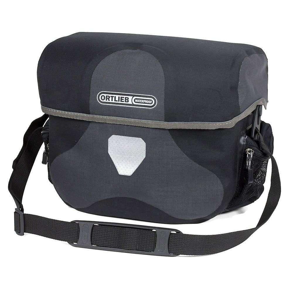 オートリービー Ortlieb ユニセックス 自転車【Ultimate6 Plus 8.5L Handlebar Bag】Granite / Black