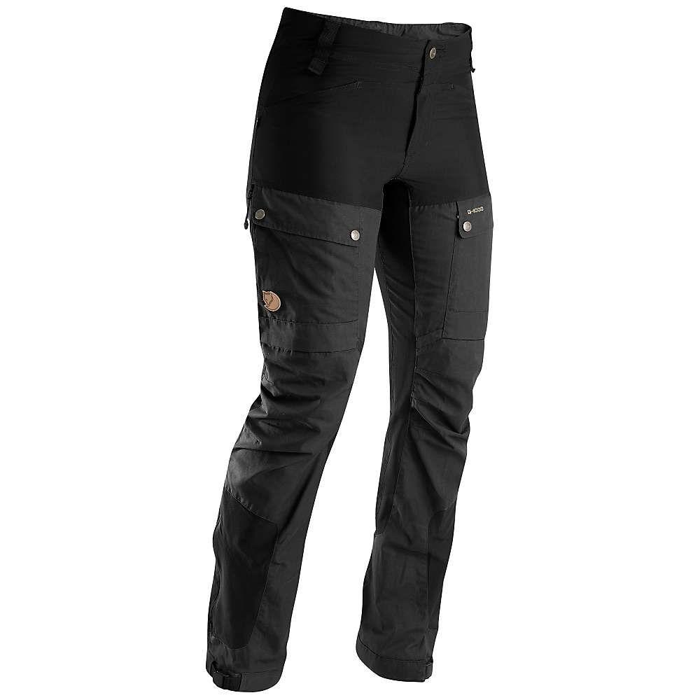 フェールラーベン Fjallraven レディース ハイキング・登山 ボトムス・パンツ【Keb Trousers】Black
