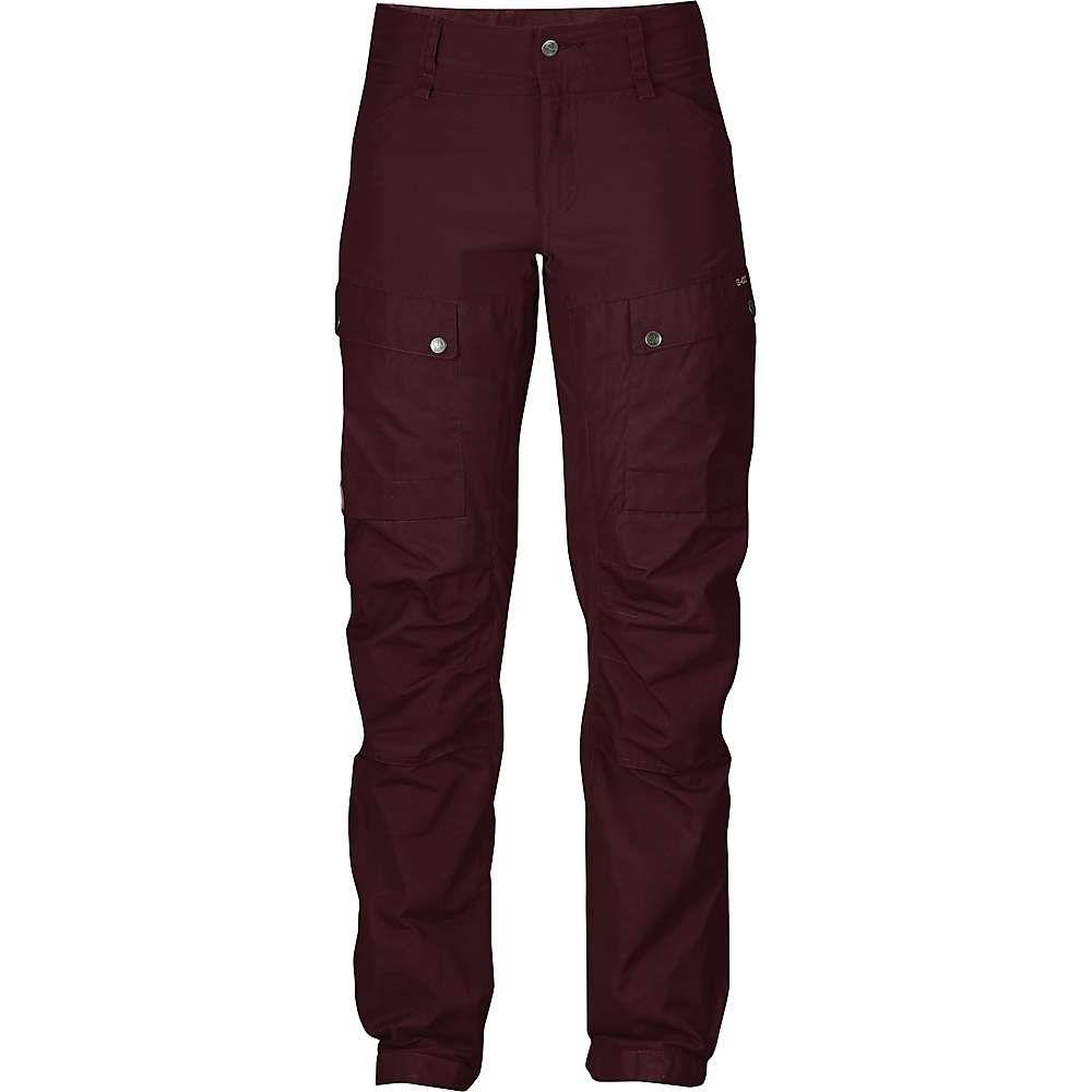 フェールラーベン Fjallraven レディース ハイキング・登山 ボトムス・パンツ【Keb Trousers】Dark Garnet