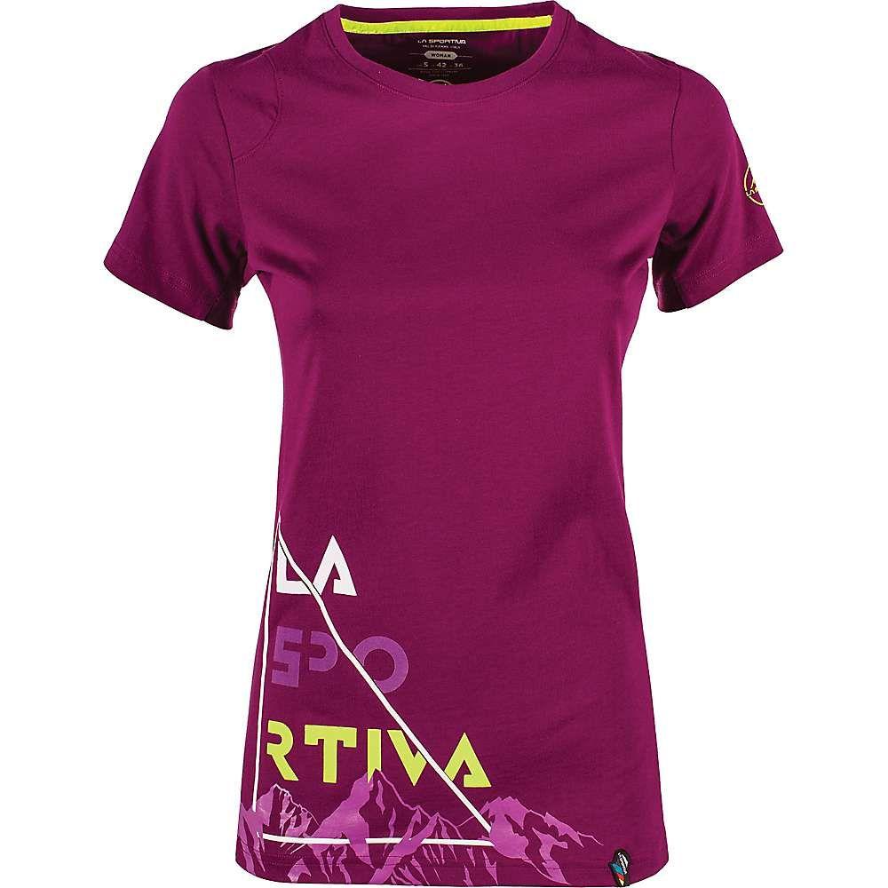 ラスポルティバ La Sportiva レディース ハイキング・登山 トップス【Mountain Is Home T-Shirt】Plum