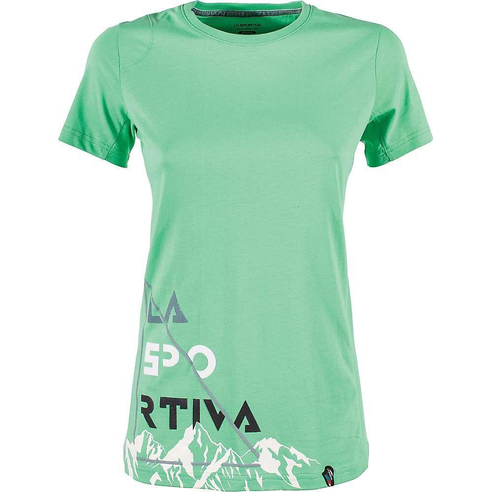 ラスポルティバ La Sportiva レディース ハイキング・登山 トップス【Mountain Is Home T-Shirt】Jadegreen