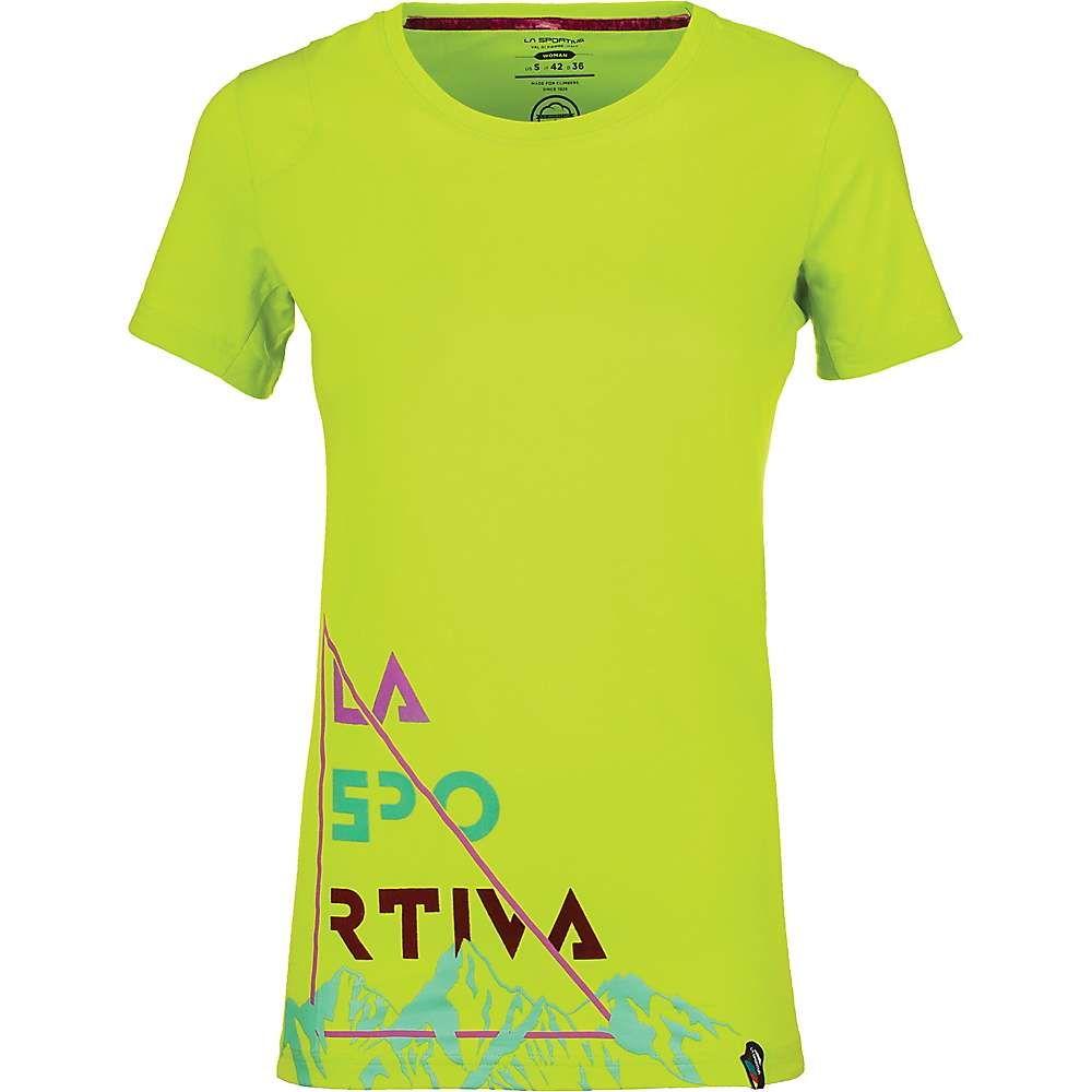 ラスポルティバ La Sportiva レディース ハイキング・登山 トップス【Mountain Is Home T-Shirt】Applegreen