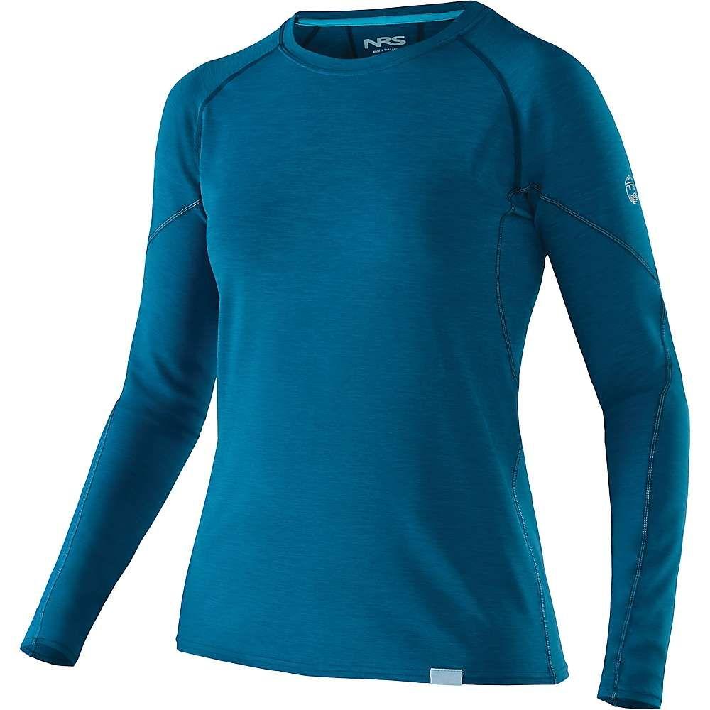 エヌアールエス NRS レディース ハイキング・登山 トップス【H2Core Silkweight LS Shirt】Moroccan Blue