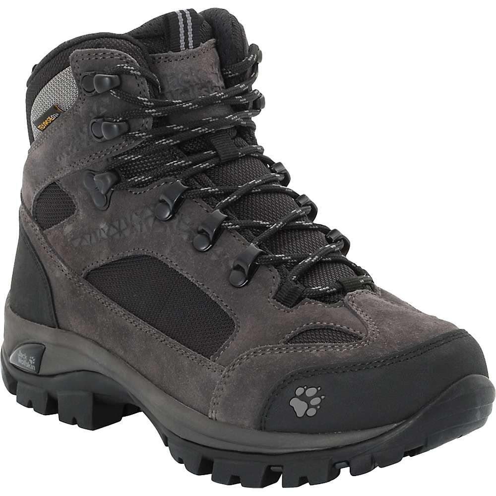 ジャックウルフスキン Jack Wolfskin レディース ハイキング・登山 シューズ・靴【All Terrain 8 Texapore Mid Boot】Shadow Black