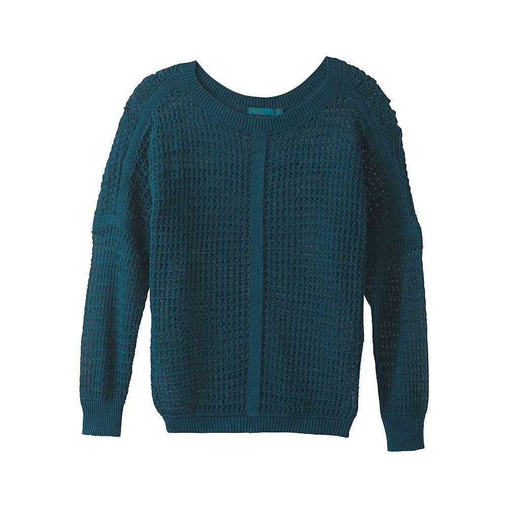 プラーナ Prana レディース ハイキング・登山 トップス【Sharla Sweater】Petrol Blue