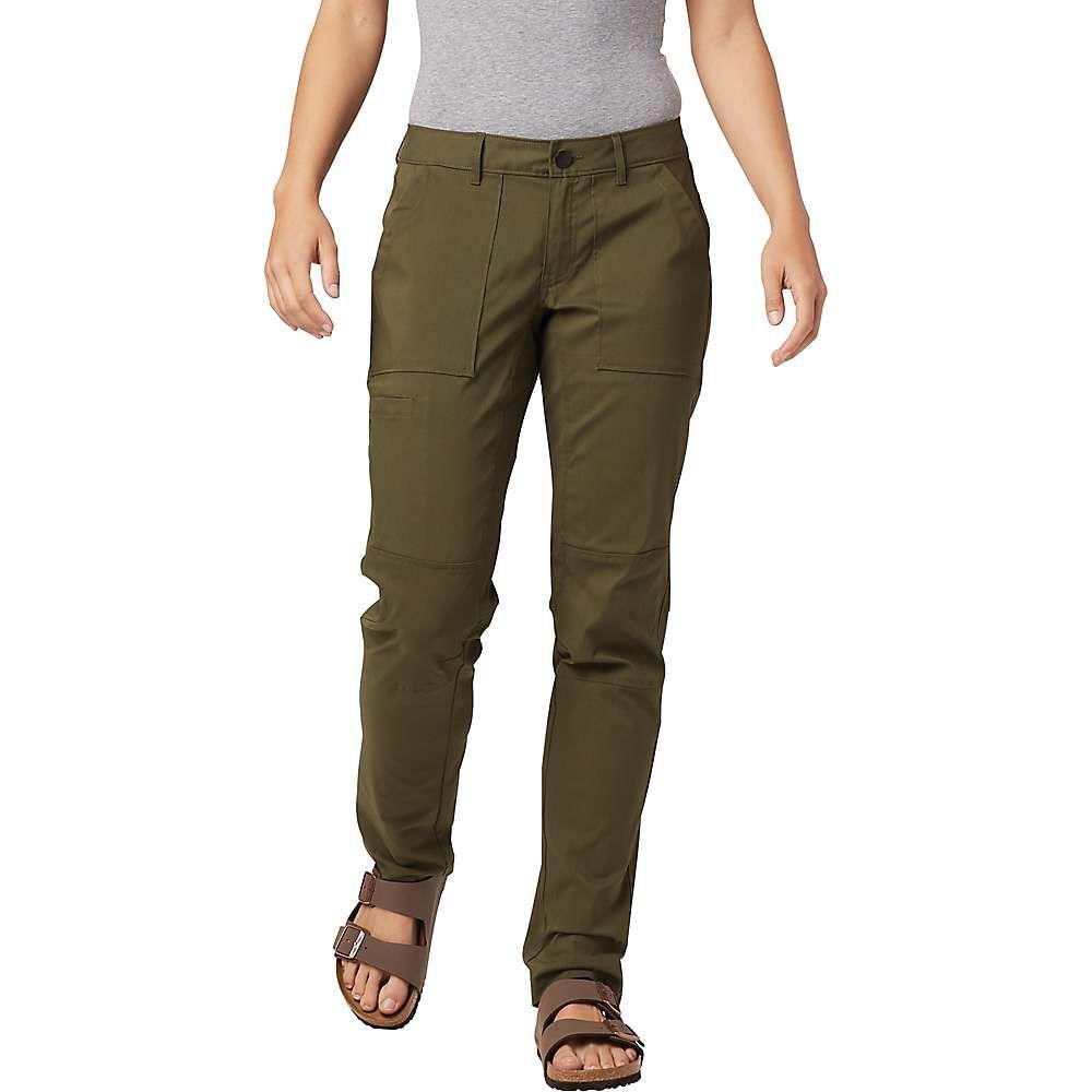 マウンテンハードウェア Mountain Hardwear レディース ハイキング・登山 ボトムス・パンツ【Hardwear AP Pant】Dark Army
