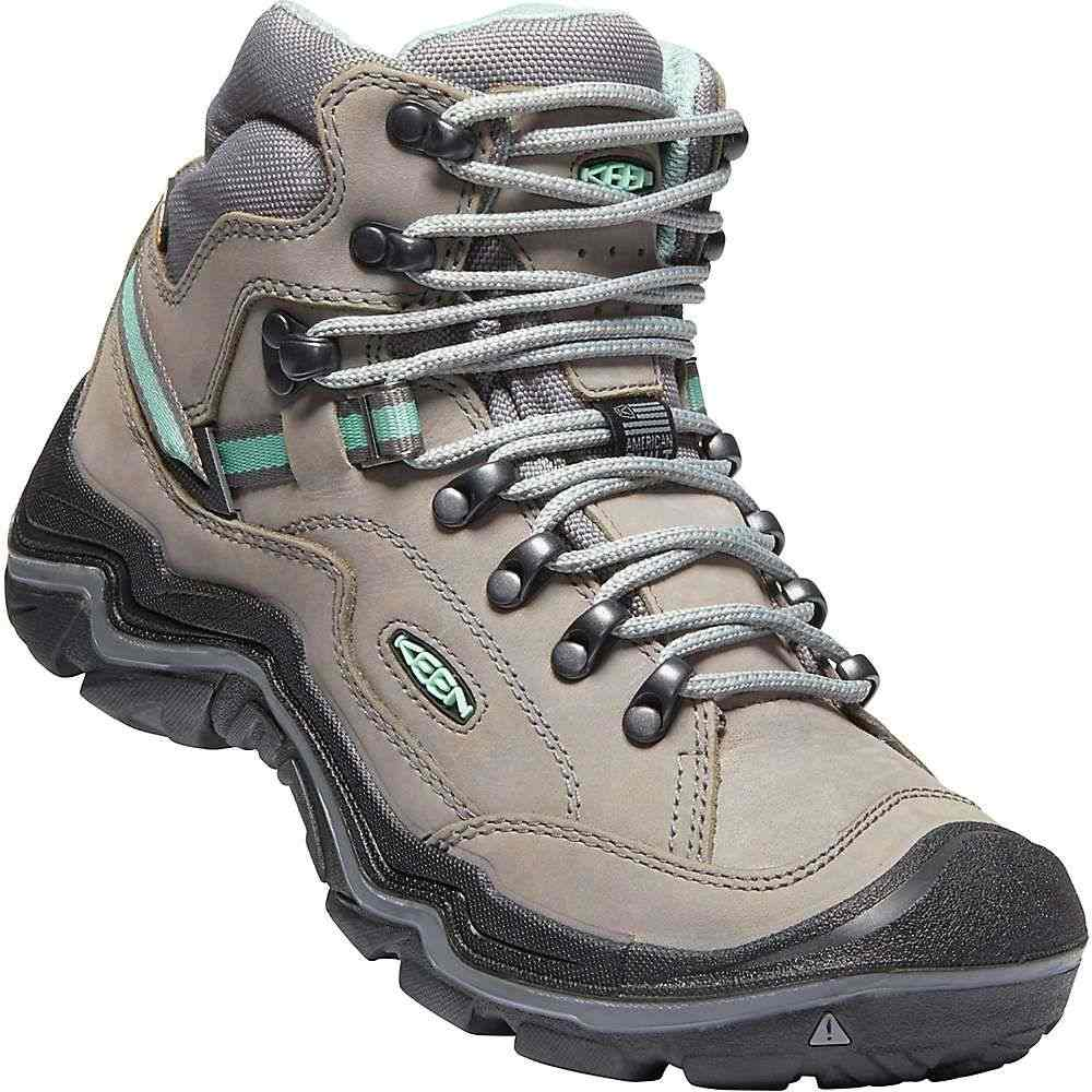 キーン Keen レディース ハイキング・登山 シューズ・靴【Durand II Mid Waterproof Boot】Grey Flannel / Steel Grey